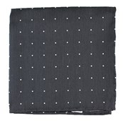 Pocket Squares - Bulletin Dot - Grey