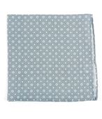 Pocket Squares - GEO SCOPE - Grey