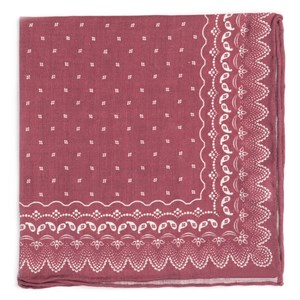 outpost paisley marsala pocket square