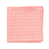 Similar Item - Coral Half Moon Floral Pocket Square