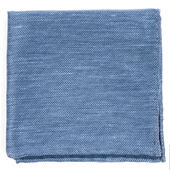 Pocket Squares - Festival Textured Solid - Slate Blue