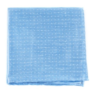 destination dots light blue pocket square
