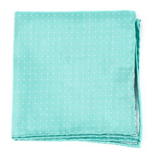Destination Dots Mint Pocket Square