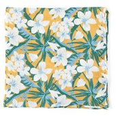 Pocket Squares - Tropic Of Linen - Mango