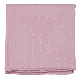 bulletin dot pink pocket square