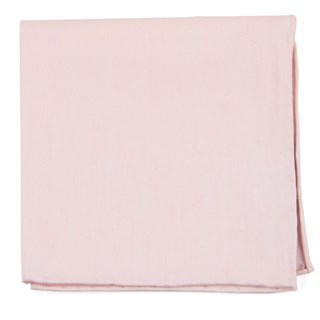 linen row blush pink pocket square
