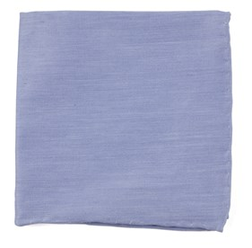 Sky Blue Linen Row pocket square