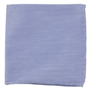 linen row sky blue pocket square