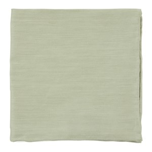 linen row sage green pocket square
