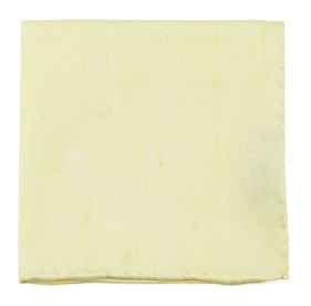 Butter Bulletin Dot pocket square