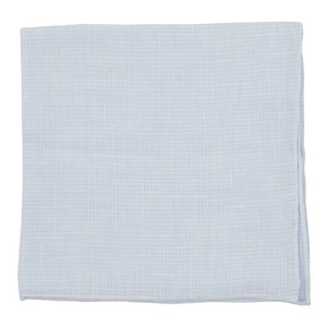 summertide tooth light blue pocket square