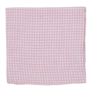 revolution checks pink pocket square