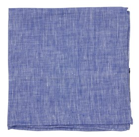 Blue South End Solid pocket square