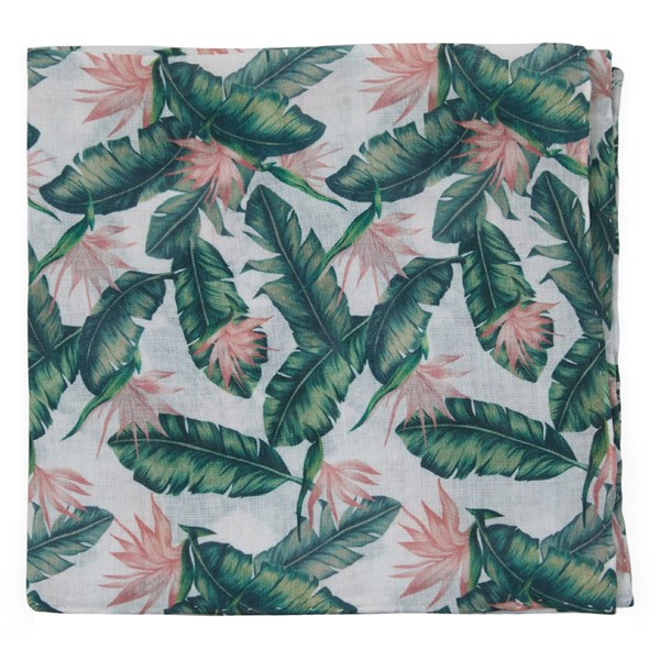 Green Mumu Weddings - Paradise Found Pocket Square