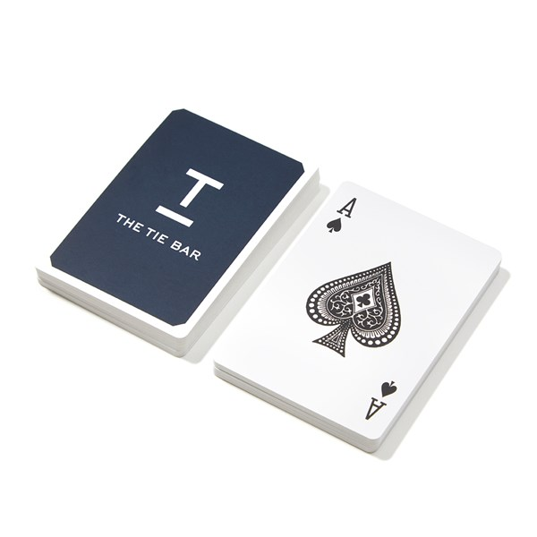 Navy Playing Cards Gifting