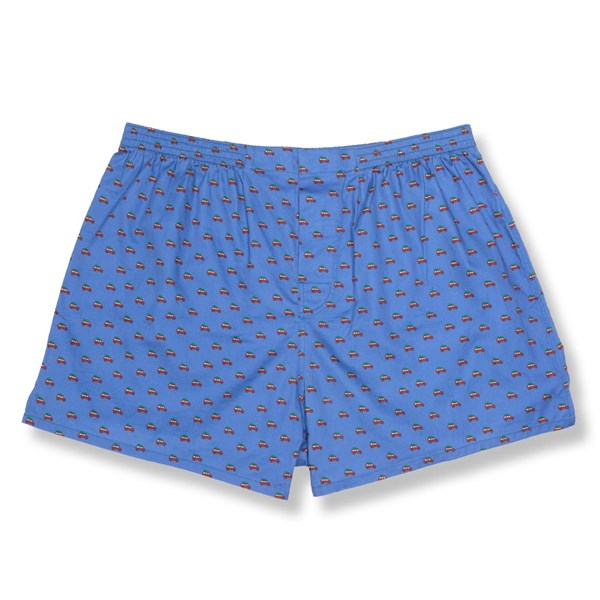 Classic Blue Tree Outing Boxer