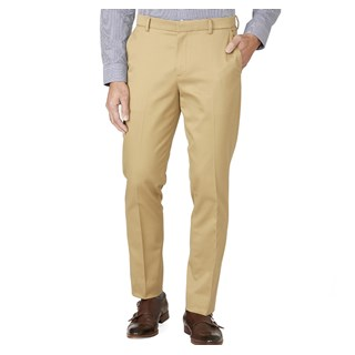 Stretch Cotton Sandstone Pants