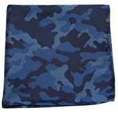 Pocket Squares - CAMO - BLUE