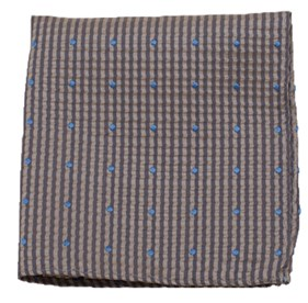 Champagne French Kiss pocket square