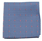 Pocket Squares - French Kiss - Light Blue