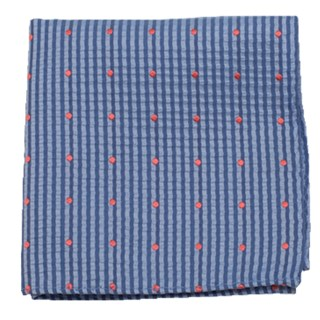 french kiss light blue pocket square