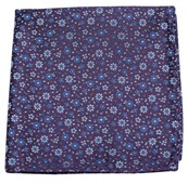 Pocket Squares - MILLIGAN FLOWERS - LIGHT PURPLE