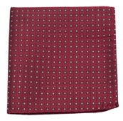Pocket Squares - WACKER DRIVE CHECKS - RED