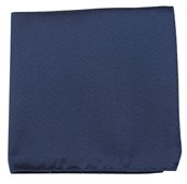 POCKET SQUARES - MELANGE TWIST SOLID - NAVY