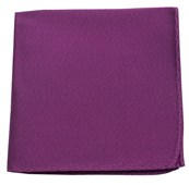 POCKET SQUARES - MELANGE TWIST SOLID - AZALEA