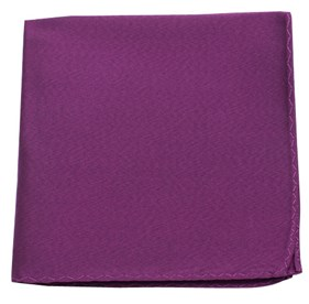Azalea Melange Twist Solid pocket square