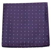 Pocket Squares - SHOWTIME GEO - PURPLE