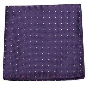 Showtime Geo Purple pocket square