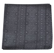 Pocket Squares - Interlaced - Charcoal