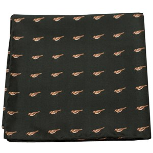 twitcher army green pocket square