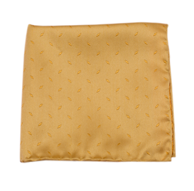 Mustard Industry Solid pocket square