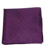 POCKET SQUARES - INDUSTRY SOLID - PLUM
