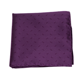 Industry Solid Plum pocket square