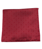 POCKET SQUARES - INDUSTRY SOLID - RED