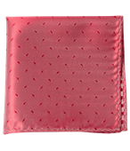 POCKET SQUARES - INDUSTRY SOLID - LIGHT RED