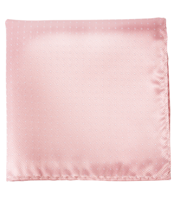 Mini Dots Blush Pink Pocket Square