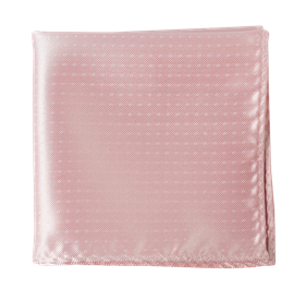 Light Pink Mini Dots pocket square