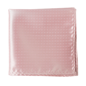 mini dots light pink pocket square