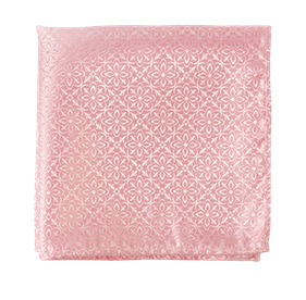 Opulent Spring Pink pocket square