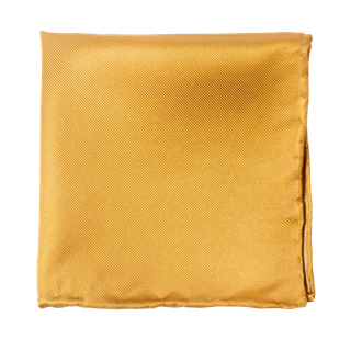 solid twill mustard pocket square