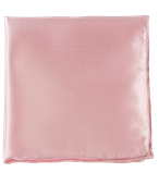 POCKET SQUARES - SOLID TWILL - LIGHT PINK