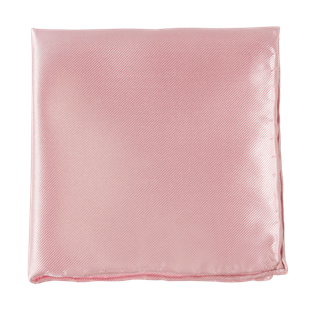 Solid Twill Light Pink Pocket Square