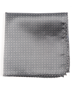 Pocket Squares - Mini Dots - Grey