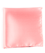 POCKET SQUARES - SOLID TWILL - SPRING PINK