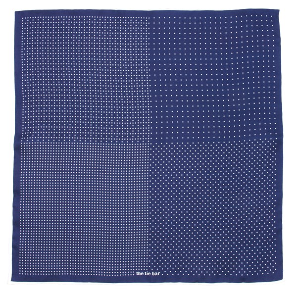 Purple Geo Zone Pocket Square