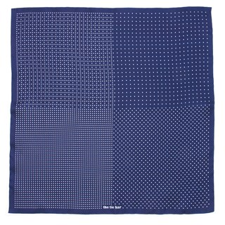 geo zone purple pocket square